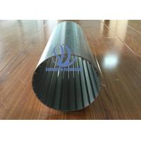 316 L Stainless Steel Johnson Screen / Well Screen Pipe For Water Treatment Manufactures
