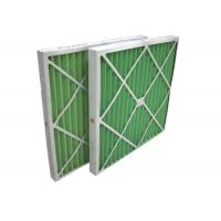 Quality Disposable Z - Line Pleated Panel Air Filters , Industrial Air Purifier With Washable Filter for sale