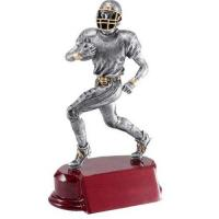 China Football resin sports trophy on sale