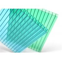 Roof Panel Twin Wall Polycarbonate Sheet 23-34dB Soundproof Index Anti Condension Manufactures