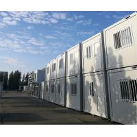 China Progressive Steel Container Houses , White Color Metal Shipping Container Homes on sale