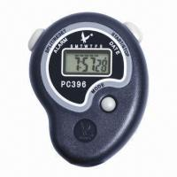 China Lap/split professional digital sports stopwatch/timer, made of ABS  on sale