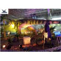 Indoor Shopping Mall Realistic Dinosaur Statues Decoration Full Size Animal Models Manufactures