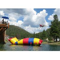 ODM Jumping Water Catapult Blob Inflatable Toys For Swimming Pools Manufactures