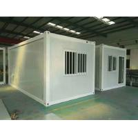 China Fire Proof 0.6mm Flat Pack Container House Buildings Modular Stable Structure on sale
