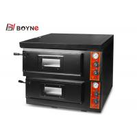 China Window View Commercial 2 Decks Gas Pizza Oven For Hotel 1 Layer Bread Toaster 9KW Desktop Type on sale