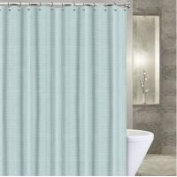 Quality Pure Purple / White Polyester Window Shower Curtain With Water Repellent for sale