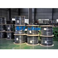 ASTM A269 TP316 / 316L Welded Multi - Core Coiled Stainless Tubing Bright Annealed Manufactures