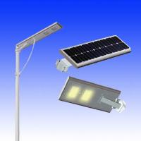 15w motion sensor street light solar power street light led all in one Manufactures