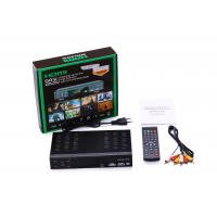 Quality Full HD ATSC Receiver ISDB-T TV Receiver support USB PVR Recording & Multi-media Player for sale