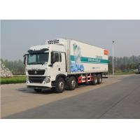 SINOTRUK HOWO Refrigerated Box Truck For Fruit Transportation 8x4 Driving Type Manufactures