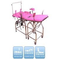 Electric Delivery Bed / General Use Obstetric Table For Hospital, Foldable Gynecology Chair Manufactures