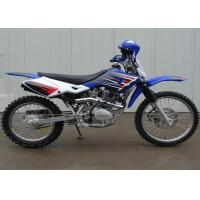 Blue Street Legal Dirt Bike Motorcycle 200cc 1 Cylinder 4 Stroke Air Cooled Manufactures
