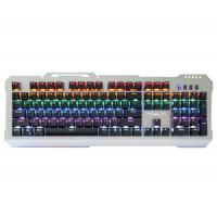 LED Backlit Gaming Keyboard AULA SI-2008 LOL Winner Wired 9 Patterns Marquee Manufactures