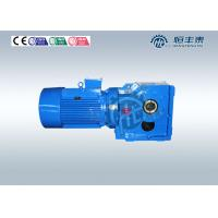 K37~ K187 0.37~200KW Spiral right angle Bevel Gearbox Gear Speed Reducer Manufactures