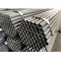 4 Inch Galvanized Steel Pipe High Frequency Welded Feature Threaded Ends Manufactures