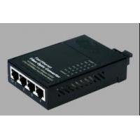 Buy cheap 100 Base - Tx 10 / 100M IEEE802.3u / IEEE802.3x Fiber POE Media Converter from wholesalers