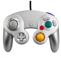 China Silver Color Wii/GC controller wii game cube Joypad controller Nintendo Wii game accessory on sale