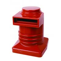 Red Brown Epoxy Resin Cast Insulators Insulating Bushing For Switchgear 1600A 10kV Manufactures