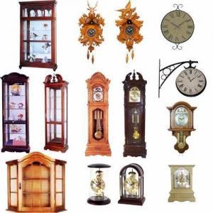 Grandfather /Mantel / Quartz / Cuckoo Clock, Wood Cabinet Manufactures