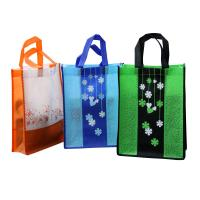 80gsm non woven fabric Non Woven Carry Bag Splicing matching fashionale colorful promotion bag Manufactures
