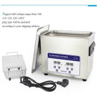 China Professional 120W Benchtop Ultrasonic Cleaner Degas Function And Two Transducer on sale