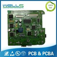 Customized SMT PCB Assembly UL RoHS Certificated FR4 Base Material
