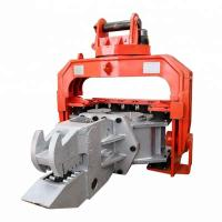 High Efficiency Hydraulic Pile Hammer Changeable Gear For Sheet Piles Pulling Manufactures