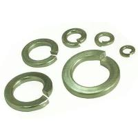 Din 7980 M6 Stainless Spring Washer , S304 Flat Lock Washer Plain Color Manufactures