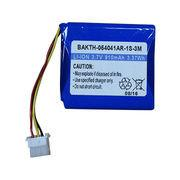BAKTH-054041AR-1S-3M 3.7V 910mAh Rechargeable Lithium-ion Battery Manufactures