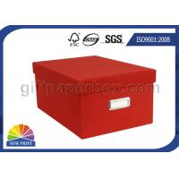 Colorful Toy Storage Corrugated Carton Paper Box / Customized Cardboard Packaging Boxes Manufactures