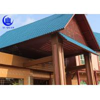 Lightweight  Spanish ASA Synthetic Resin Roof Tile Prefabricated Houses Excellent decay resistance Manufactures