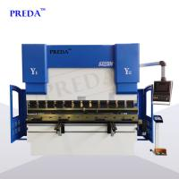 Buy cheap Auto CNC press brake machine 3mm carbon steel hydraulic folding machine from wholesalers