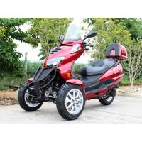 50CC Horizontal Type Tri Wheel Motorcycle With Single Cylinder , Belt Drive Transmission Manufactures