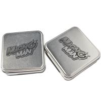 China Silver Gift Tins,Tin Jars For Chocolate Packaging, Food Tin, Sweet Tin on sale