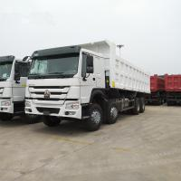 China 12 Wheeler 8x4 371hp Heavy Duty Dump Truck With HW19710 Transmission on sale