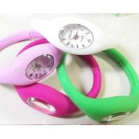 good quality 100% eco-friendly anion silicone digital  watch Manufactures