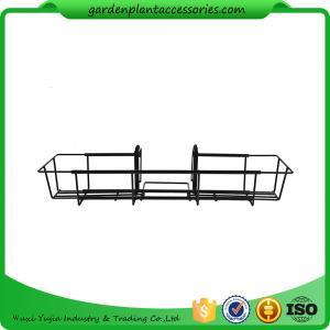 24 Inch Black Garden Hanging Baskets Manufactures