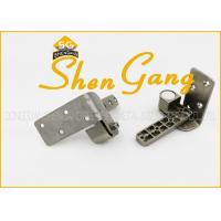 Adjustable Stainless Steel Pivot Door Hinges , 90 Degree Furniture Door Hinges Manufactures