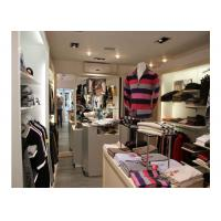Commercial Decoration Garment Shop Fittings Fashion Style Floor Standing Clothing Hanging Manufactures