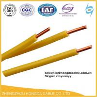 Buy cheap different types of AWG 6 8 10 12 14 16 household building PVC electrical housing copper wires from wholesalers