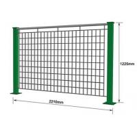 Powder Coated Galvanized Steel Bar Electro Welded Modular Grating Fence Manufactures