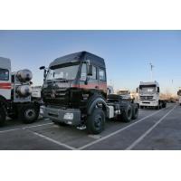 China 340HP Tractor Head Prime Mover Truck 40 Tons LHD RHD Prime Mover 10 Wheel on sale