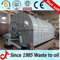 Automatic daily 10ton with engineer installation waste rubber pyrolysis fuel oil Manufactures