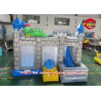 Children Park Inflatable Trampoline Colorful PVC Printing Pattern Manufactures