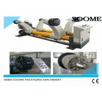 Heavy Type Shaftless Hydraulic Mill Roll Stand , Reel Stand Paper Roll Holder 2000 Model Manufactures