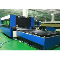 Metal Laser Cutting Machine / Cast Iron Cutter Machine 120 M/Min Positioning Speed Manufactures
