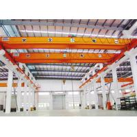 380V 50Hz Three Phase Workshop Overhead Crane , 5 Ton Single Girder EOT Crane Manufactures