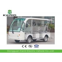 Battery Operated Electric Sightseeing Car With 11 Seats Low Noise Long Service Life Manufactures