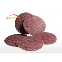 60# - 600# Hook And Loop Sanding Discs Aluminium Oxide Waterproof Max 9 Inch Manufactures